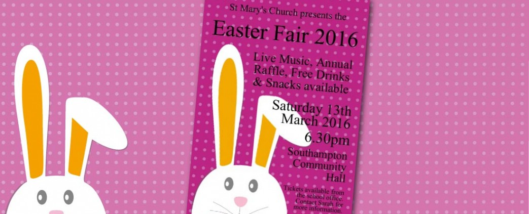 A3 Poster- Easter Design 2