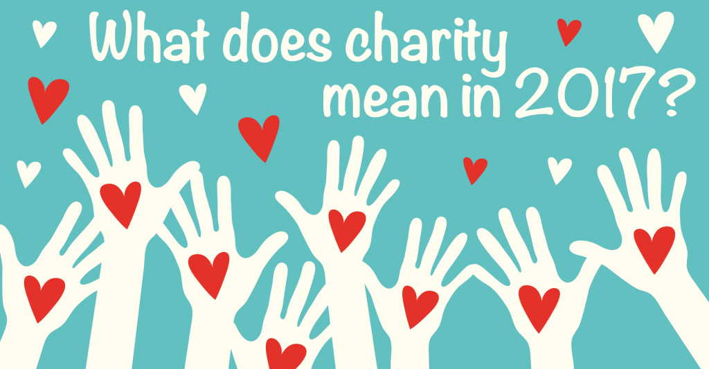 what does charity mean in 2017